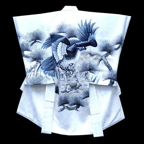 Hawk Silk Kimono & Juban Set