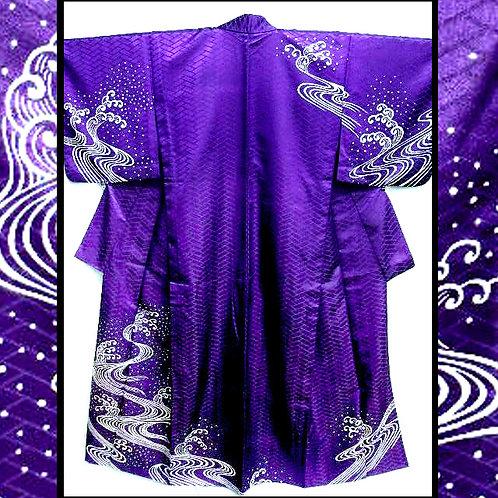 Dancing Waves Kimono