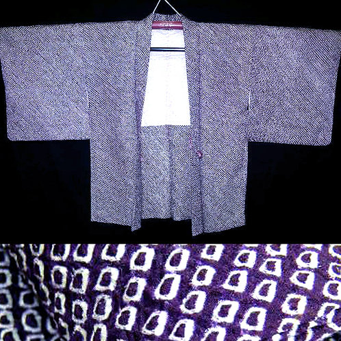 Purple All Shibori Haori
