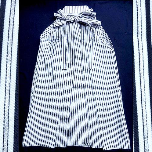 Silver Stripe Andon Hakama