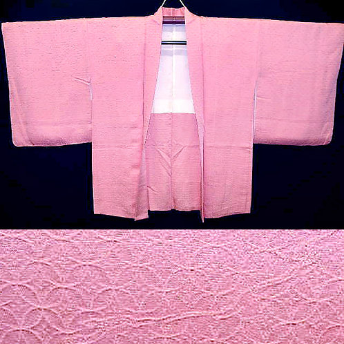 Pink Shippou Weave Haori