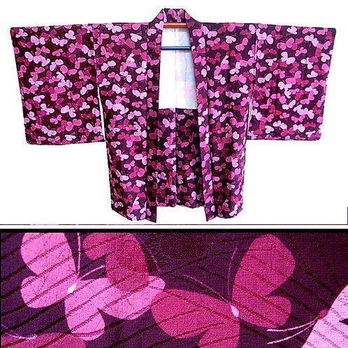 Butterflies Abound - Silk Haori