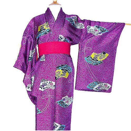 Antique Soft Silk Kimono*