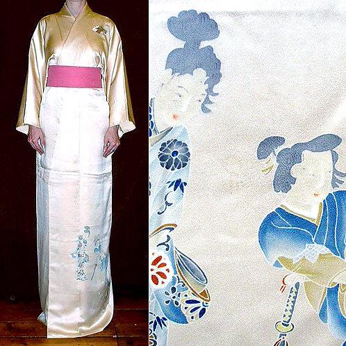 Geisha & Samurai Kimono