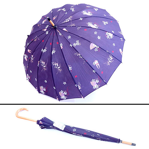 A Japanese Umbrella - Purple