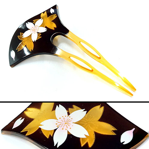 A Japanese Long Comb - Sakura