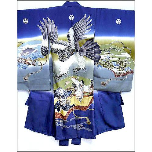 Samurai, Hime, Hawk & Fuji Kimono
