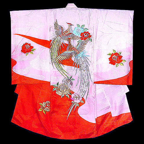 Display Beauty Embroidered Kimono