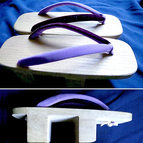 Purple Strap Geta