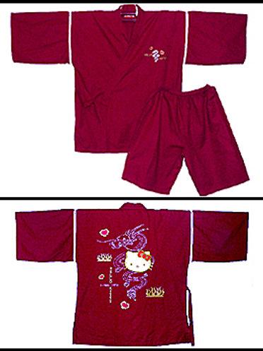 Hello Kitty Jinbei & Shorts