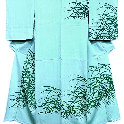 Green Grasses Kimono