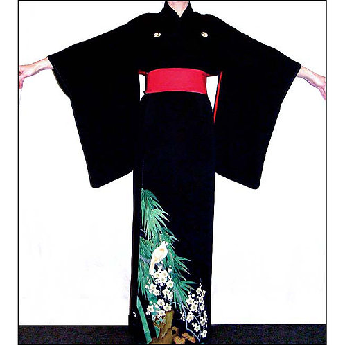 Geisha Antique Tomesode