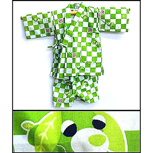 Child's Green Jinbei Set
