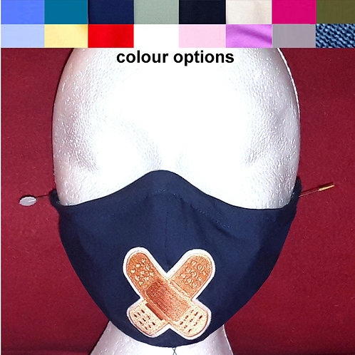 Band Aid - Wired Face Mask - 16 Mask Colours