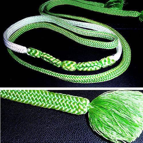 Green Shaded Obijime