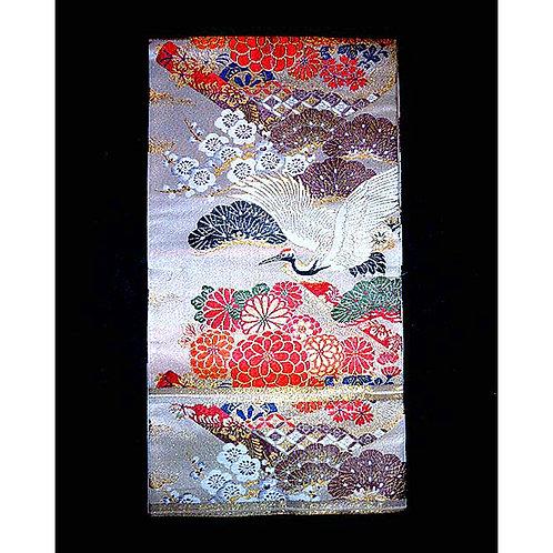Cranes & Gold Maru Obi