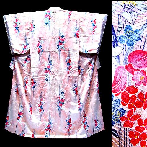 Pink Komon Kimono