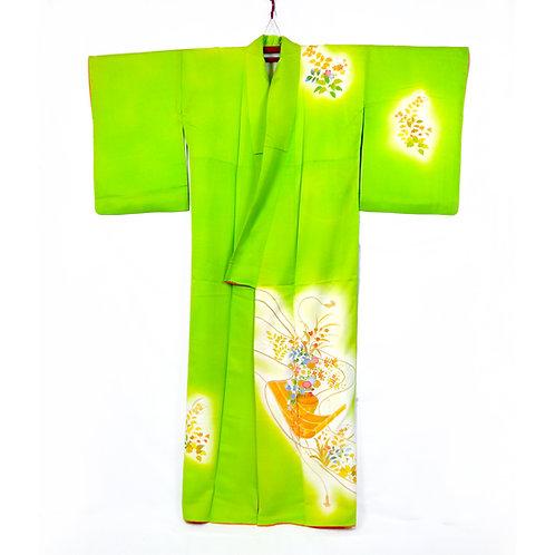 Glorious Green Kimono