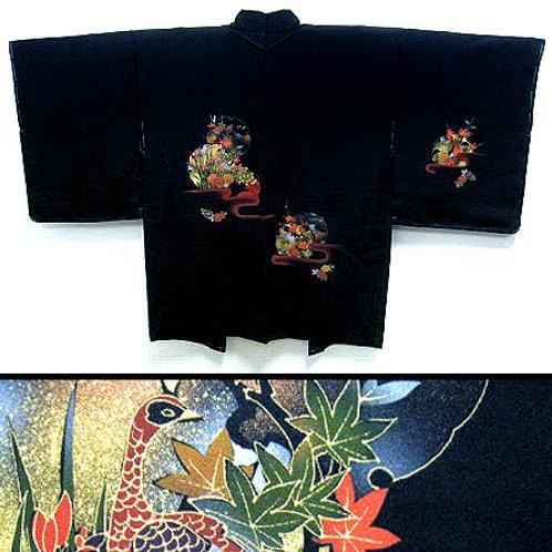 Peacock & Flowers Haori