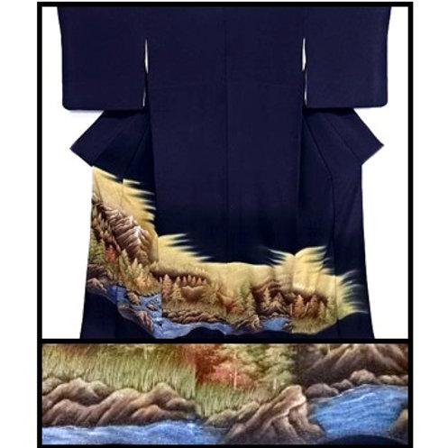 Trees & Stream Kimono