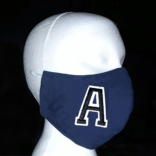 Varsity A - Wired Face Mask - 16 Colour Choices