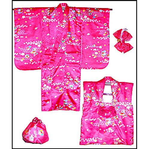 Kimono, Chan Chan Ko, Bag & Bow