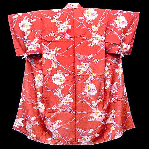 Antique Floral Kimono