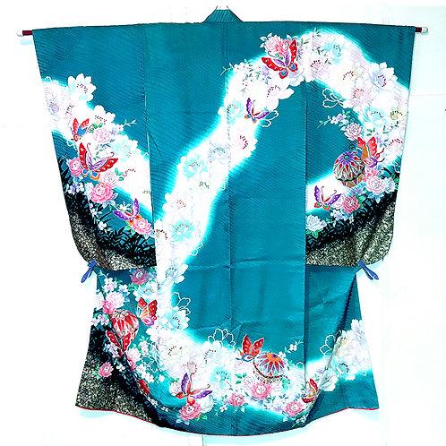 Teal Beauty Kimono