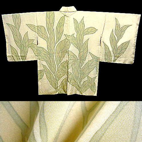 Tall Leaves Silk Haori