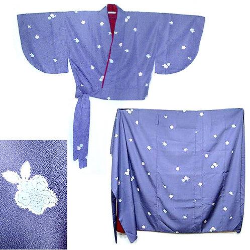 Floral 2 Part Nibushiki Kimono