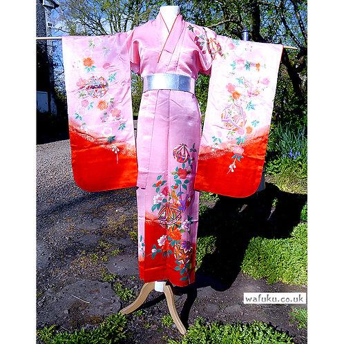 Pink with Temari & Sakura Kimono