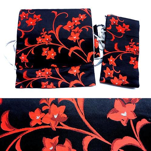 Black & Red 2 Part Obi