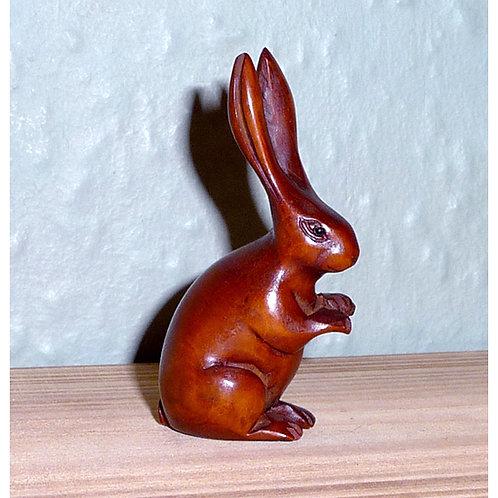 Hare Netsuke