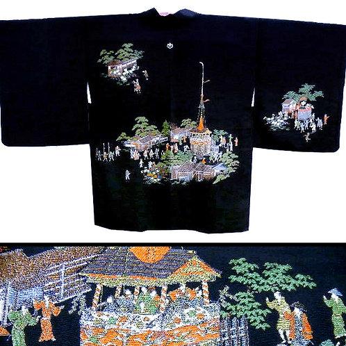 Gion Festival Scene Haori