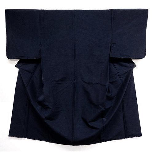 A Handsome Dark Blue Kimono M