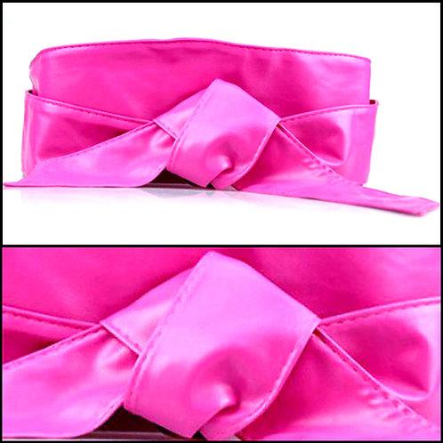 Tie Belt - Pink