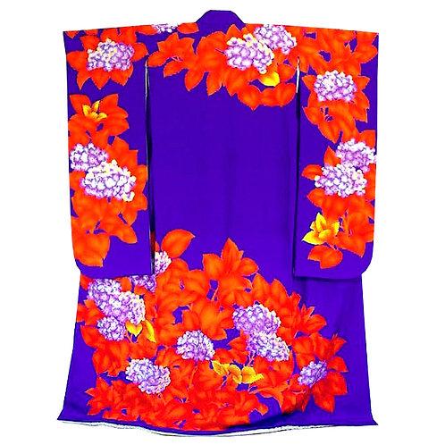 Hydrangea Purple Furisode