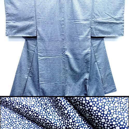 Snowy Silk Men's Kimono