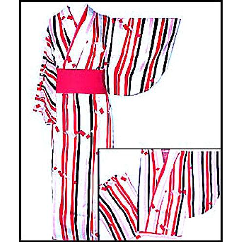 2-Part Kimono - Stripes - L