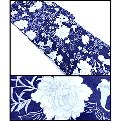 Pale Peonies - Washable New Kimono - L