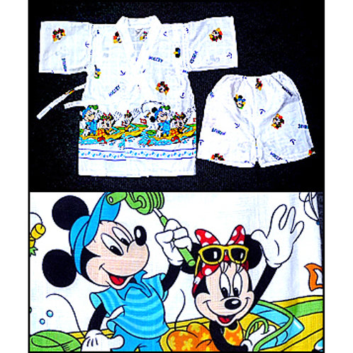 Mickey & Minnie Jinbei & Shorts