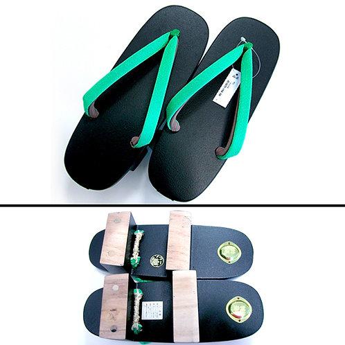 Kansai Yamomoto Geta - Green Black