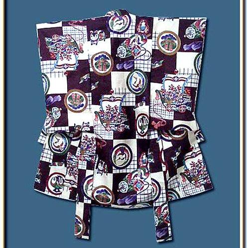 Boy's Silk Kimono, Toys Design