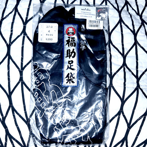 Black Cotton Luxury Tabi 27cm