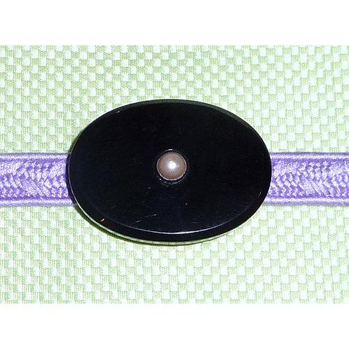 Black Glass & Pearl Obidome