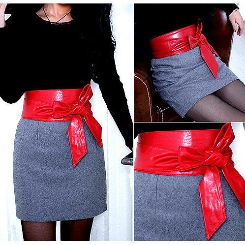 Tie Belt - Red