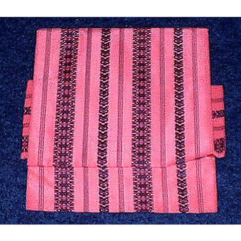 Black & Pink 2 Part Silk Obi