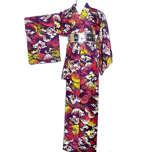 Arboreal Splendour Kimono