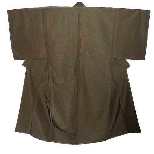 A Handsome Olive Kimono L