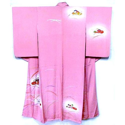 Floral Design Pink Tsukesage